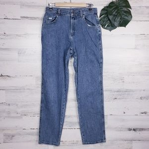 Lee straight leg high waist mom jeans